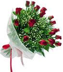 Aksaray internetten çiçek satışı  11 adet kirmizi gül buketi sade ve hos sevenler
