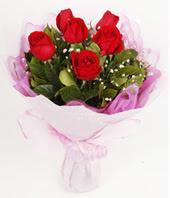 9 adet kaliteli görsel kirmizi gül  Aksaray çiçek gönderme