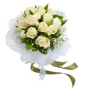 Aksaray online çiçekçi , çiçek siparişi  11 adet benbeyaz güllerden buket