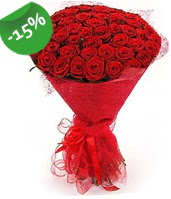 51 adet kırmızı gül buketi özel hissedenlere  Aksaray çiçek siparişi sitesi