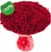 Özel mi Özel buket 101 adet kırmızı gül  Aksaray anneler günü çiçek yolla