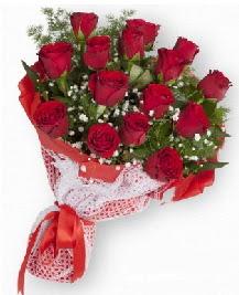 11 kırmızı gülden buket  Aksaray güvenli kaliteli hızlı çiçek