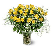 Aksaray çiçek siparişi sitesi  15 adet sarigül mika yada cam vazoda