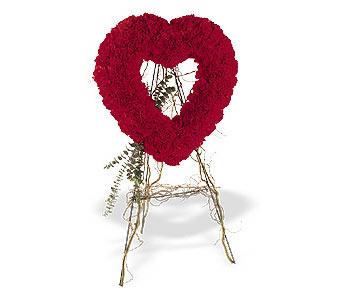 Aksaray internetten çiçek satışı  karanfillerden kalp pano