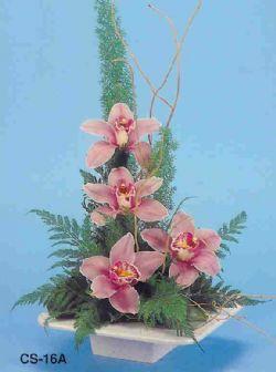 Aksaray çiçekçi telefonları  vazoda 4 adet orkide