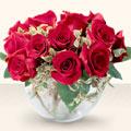 Aksaray çiçek online çiçek siparişi  mika yada cam içerisinde 10 gül - sevenler için ideal seçim -
