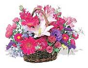 küçük karisik özel sepet   Aksaray çiçek online çiçek siparişi