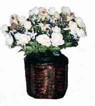 yapay karisik çiçek sepeti   Aksaray cicek , cicekci