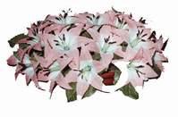 yapay karisik çiçek sepeti   Aksaray çiçekçi mağazası