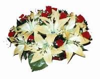 yapay karisik çiçek sepeti   Aksaray internetten çiçek siparişi