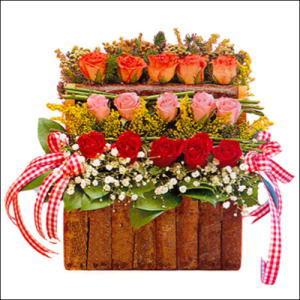 sandikta 3 kat güllerden   Aksaray cicekciler , cicek siparisi