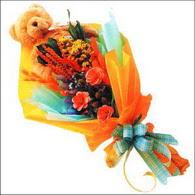 ayicik gül ve kir çiçekleri   Aksaray çiçekçi mağazası