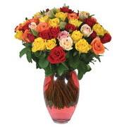 51 adet gül ve kaliteli vazo   Aksaray çiçek gönderme sitemiz güvenlidir