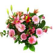 lilyum ve gerbera çiçekleri - çiçek seçimi -  Aksaray çiçek gönderme