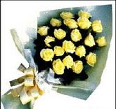 sari güllerden sade buket  Aksaray çiçek , çiçekçi , çiçekçilik
