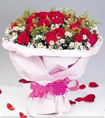 Aksaray internetten çiçek satışı  12 ADET KIRMIZI GÜL BUKETI