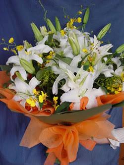 Aksaray internetten çiçek satışı  5 ADET KAZABLANKA BUKETI KALITEDEN SASMAYANLARA