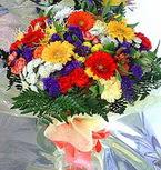 Aksaray hediye çiçek yolla  karma büyük ve gösterisli mevsim demeti