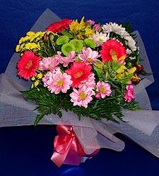karisik sade mevsim demetligi   Aksaray 14 şubat sevgililer günü çiçek