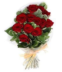 Aksaray çiçek yolla , çiçek gönder , çiçekçi   9 lu kirmizi gül buketi.