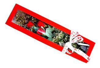 Aksaray hediye çiçek yolla  Kutuda 3 adet gül