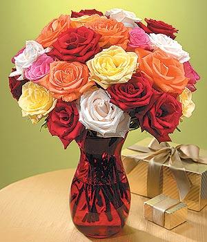 Aksaray anneler günü çiçek yolla  13 adet renkli gül