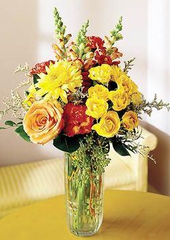 Aksaray 14 şubat sevgililer günü çiçek  mika yada cam içerisinde karisik mevsim çiçekleri