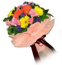 Aksaray çiçekçi mağazası  Karisik mevsim çiçeklerinden demet
