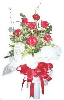 Aksaray çiçek siparişi sitesi  7 adet kirmizi gül buketi