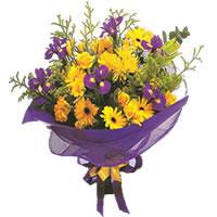 Aksaray çiçek gönderme sitemiz güvenlidir  Karisik mevsim demeti karisik çiçekler