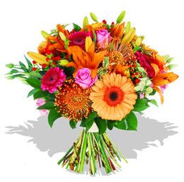 Aksaray çiçekçi telefonları  Karisik kir çiçeklerinden görsel demet