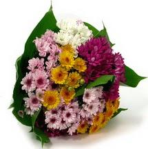 Aksaray çiçekçi telefonları  Karisik kir çiçekleri demeti herkeze