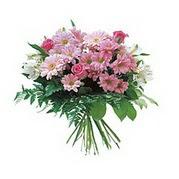 karisik kir çiçek demeti  Aksaray çiçek satışı
