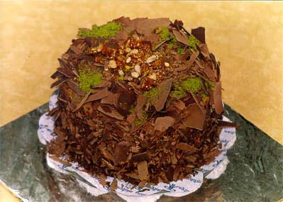 Çikolatali 4 ila 6 kisilik yas pasta  Aksaray çiçek gönderme sitemiz güvenlidir