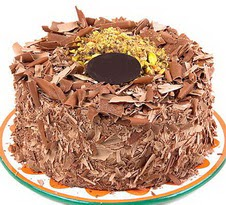 çikolatali 4 ile 6 kisilik yas pasta  Aksaray çiçek servisi , çiçekçi adresleri