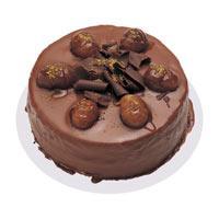 Kestaneli çikolatali yas pasta  Aksaray çiçek , çiçekçi , çiçekçilik