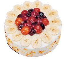 Meyvali 4 ile 6 kisilik yas pasta leziz  Aksaray ucuz çiçek gönder