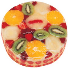 Meyvali 4 ile 6 kisilik yas pasta leziz  Aksaray hediye çiçek yolla
