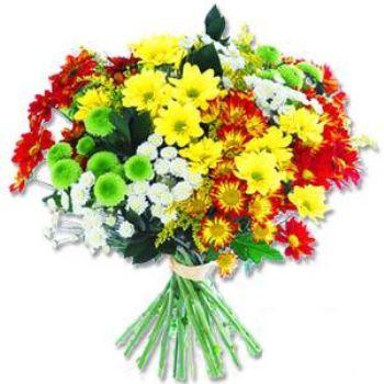 Kir çiçeklerinden buket modeli  Aksaray online çiçek gönderme sipariş