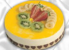 pasta gönderme 4 ile 6 kisilik yas pasta muzlu yaspasta  Aksaray çiçek mağazası , çiçekçi adresleri