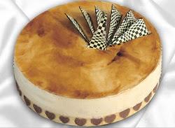 taze pasta 4 ile 6 kisilik yas pasta karamelli yaspasta  Aksaray çiçekçiler
