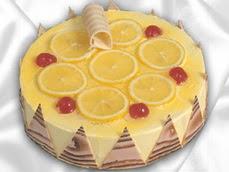 taze pastaci 4 ile 6 kisilik yas pasta limonlu yaspasta  Aksaray online çiçek gönderme sipariş