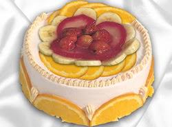 leziz pastane 4 ile 6 kisilik yas pasta meyvali yaspasta  Aksaray kaliteli taze ve ucuz çiçekler
