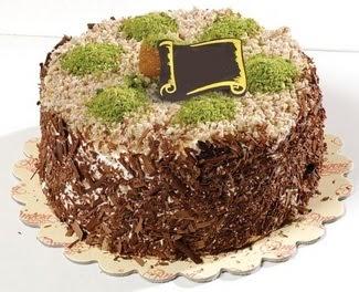pasta gönderme 4 ile 6 kisilik çikolatali yas pasta  Aksaray çiçek satışı