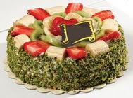 pasta gönder  4 ile 6 kisilik karisik meyvali yas pasta  Aksaray internetten çiçek siparişi