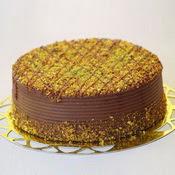 sanatsal pastaci 4 ile 6 kisilik krokan çikolatali yas pasta  Aksaray cicek , cicekci