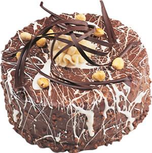pasta satisi 4 ile 6 kisilik çikolatali yas pasta  Aksaray İnternetten çiçek siparişi