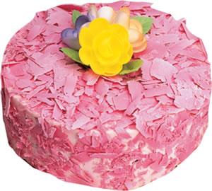 pasta siparisi 4 ile 6 kisilik framboazli yas pasta  Aksaray çiçek yolla