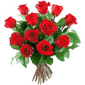 11 adet bakara kirmizi gül buketi  Aksaray güvenli kaliteli hızlı çiçek