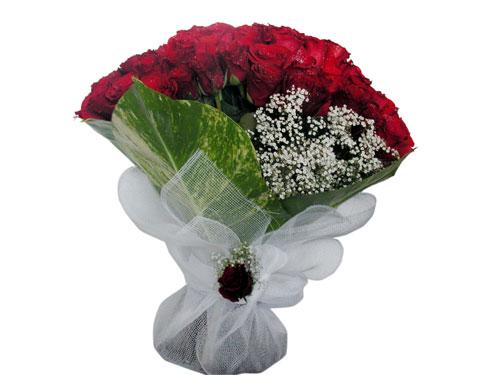 25 adet kirmizi gül görsel çiçek modeli  Aksaray çiçek servisi , çiçekçi adresleri